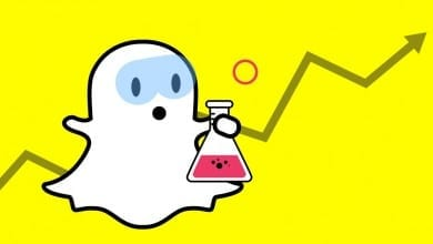 الاعلان على Snapchat